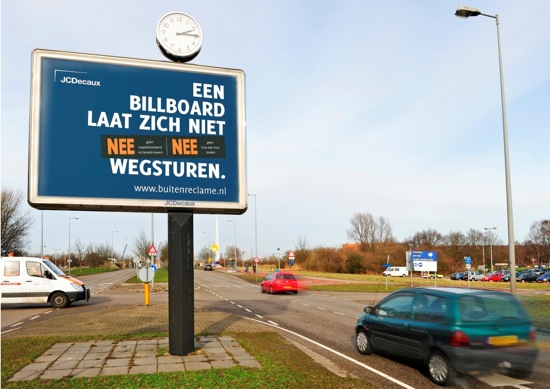 Ophef over billboard-campagne